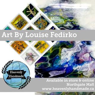 ART BY LOUISE FEDIRKO