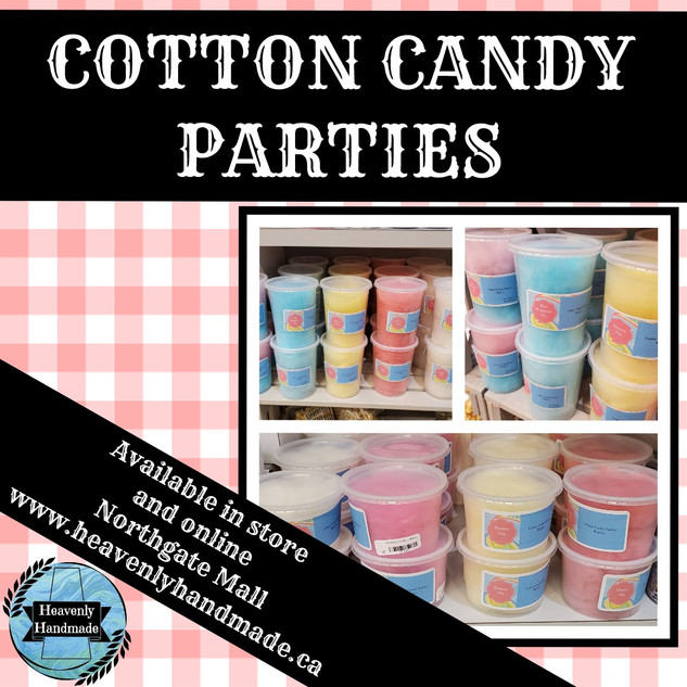 COTTON CANDY PARTIES