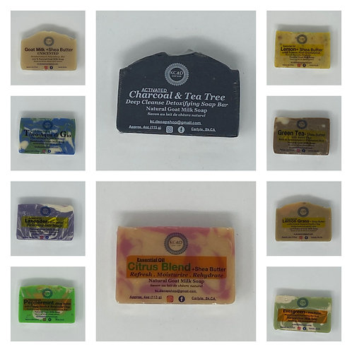 GOAT MILK SOAPS by KC&D Soap Shop
