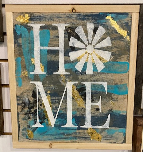 HOME SIGN by Dusty Road Designs