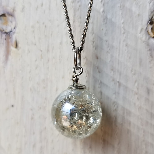 SINGLE MARBLE NECKLACES by Sweet Ivy Jewelry
