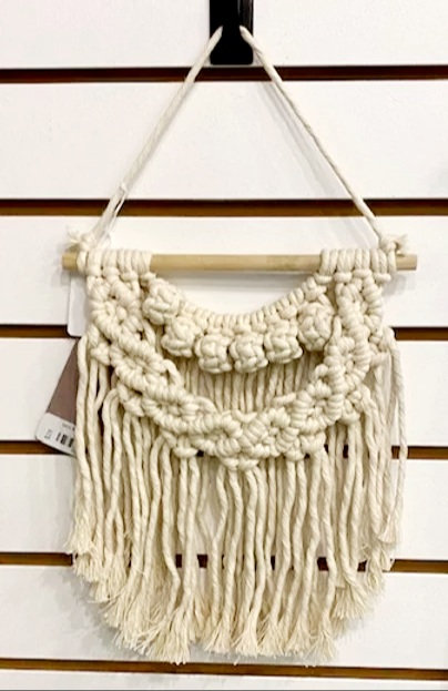 MINI BUTTON WALL HANGING by Prairie & Ivy Studio