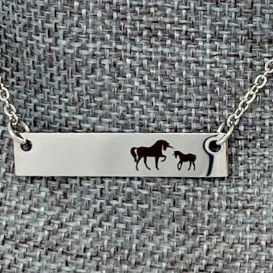 MAMA UNICORN NECKLACES by Corso Custom Jewelry