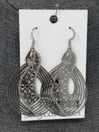 SILVER SNOWY DAY DROP EARRINGS by Corso Custom Jewelry