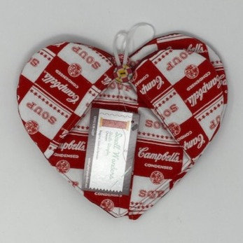 HEART POT HOLDERS by Small Wonders