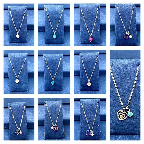 KIDS NECKLACES by SIMplicity Handmade Jewelry