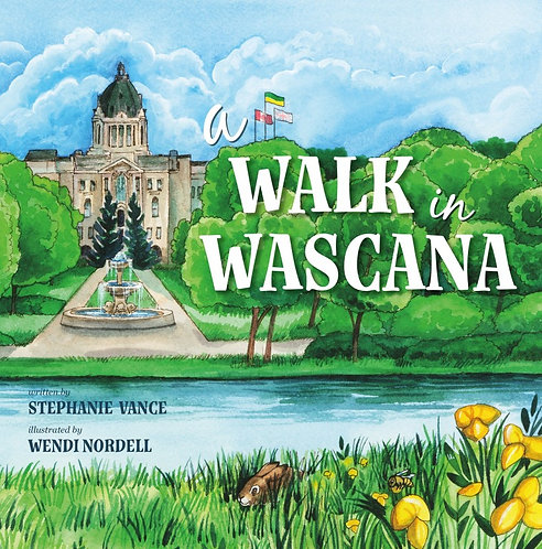 A WALK IN WASCANA by Stephanie Vance