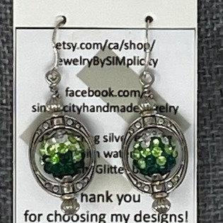 OBLONG EARRINGS by SIMplicity Handmade Jewelry