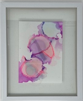 ALCOHOL INK PAINTING 0004 by Kristen Faye Designs
