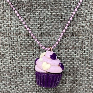 CUPCAKE CHARM NECKLACES by Sweet Charmed Life