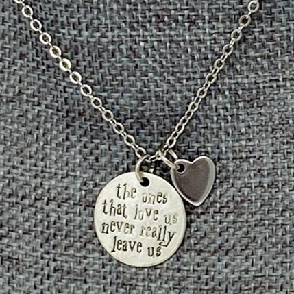 THE ONES THAT LOVE US NECKLACE by Corso Custom Jewelry