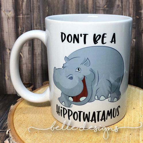 HIPPO 2 MUG by Belle Designs