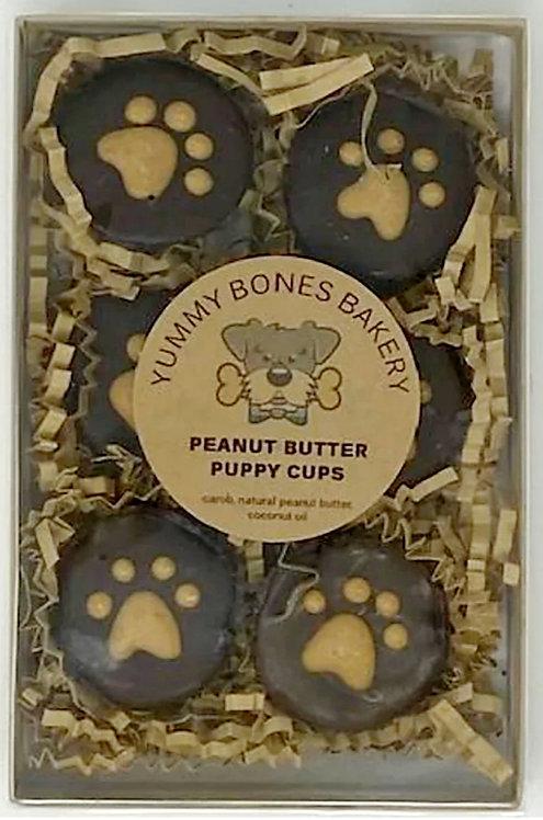 PB PUPPY CUPS DOG TREATS by Yummy Bones Bakery