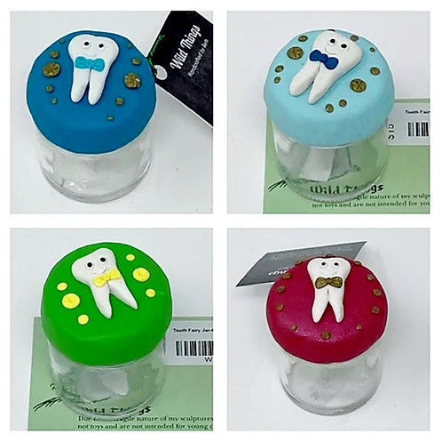 TOOTH FAIRY JARS by Wild Things