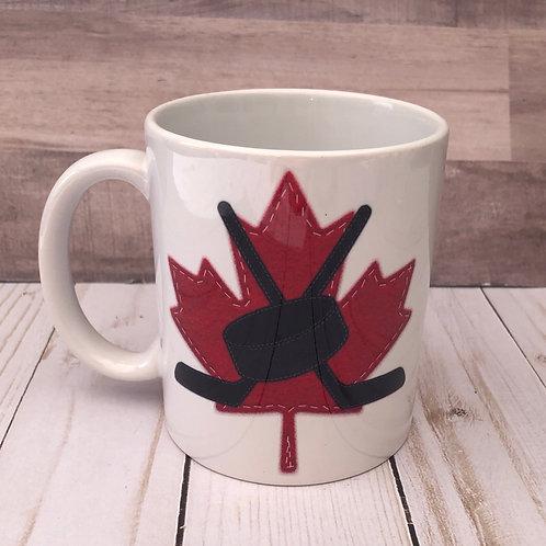 CANADA HOCKEY MUG by Belle Designs