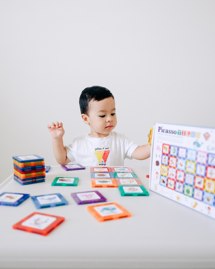 PLAY & LEARN with Picasso Tiles