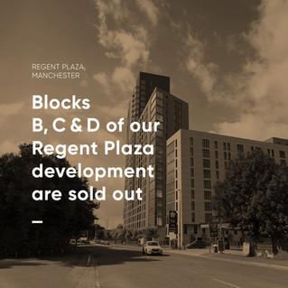 Regent Plaza Block B, C & D now sold out!