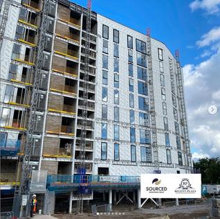 Huge progress for internal works at Regent Plaza Block B