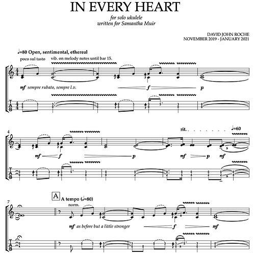 In Every Heart | UKULELE (PDF)