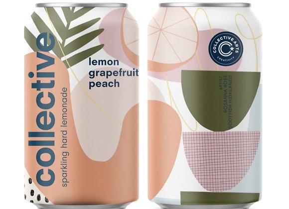 Pink Grapefruit Peach Lemonade