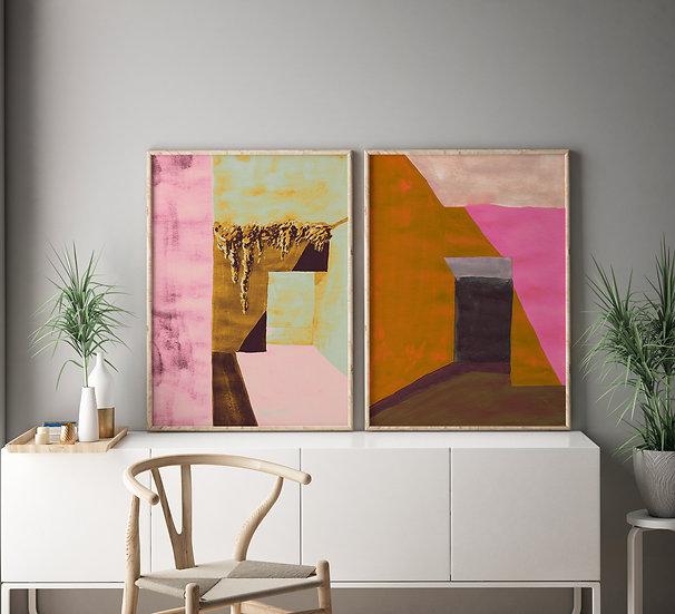 Earthy Walls Printable Gallery Set | Multiformat Downloadable DIY print