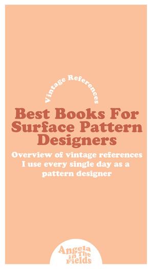 Best Books For Vintage Pattern References