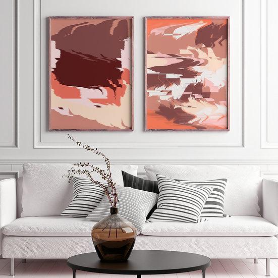 Plains of Love Printable Gallery Set | Multiformat Downloadable DIY print