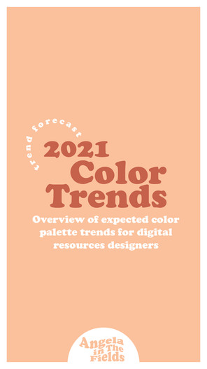 2021 Color Trends For Digital Resources Designers