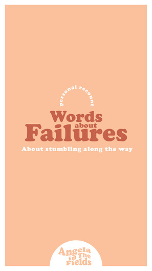 Words About Failures