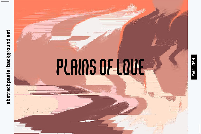 Plains of Love Backgrounds Set