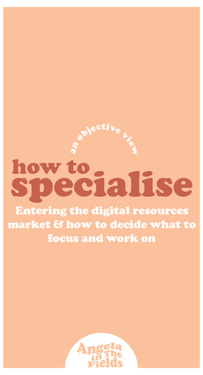How To Specialise