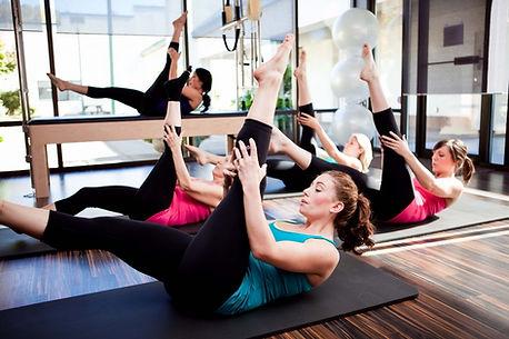 Pilates leg stretching