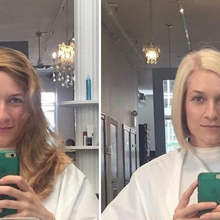 Margot before and after