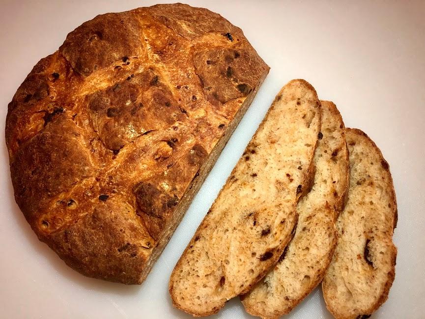 Sun Dried Tomato & Parmesan Bread
