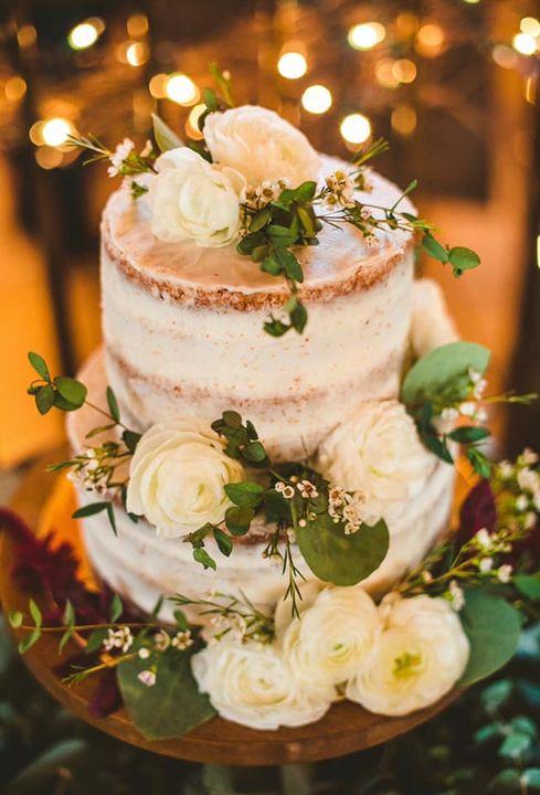 Vanilla _Naked_ Wedding Cake
