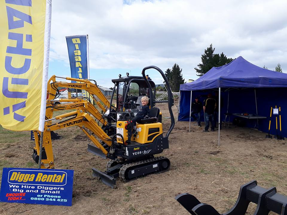 Otago Field Days - Digga Rental