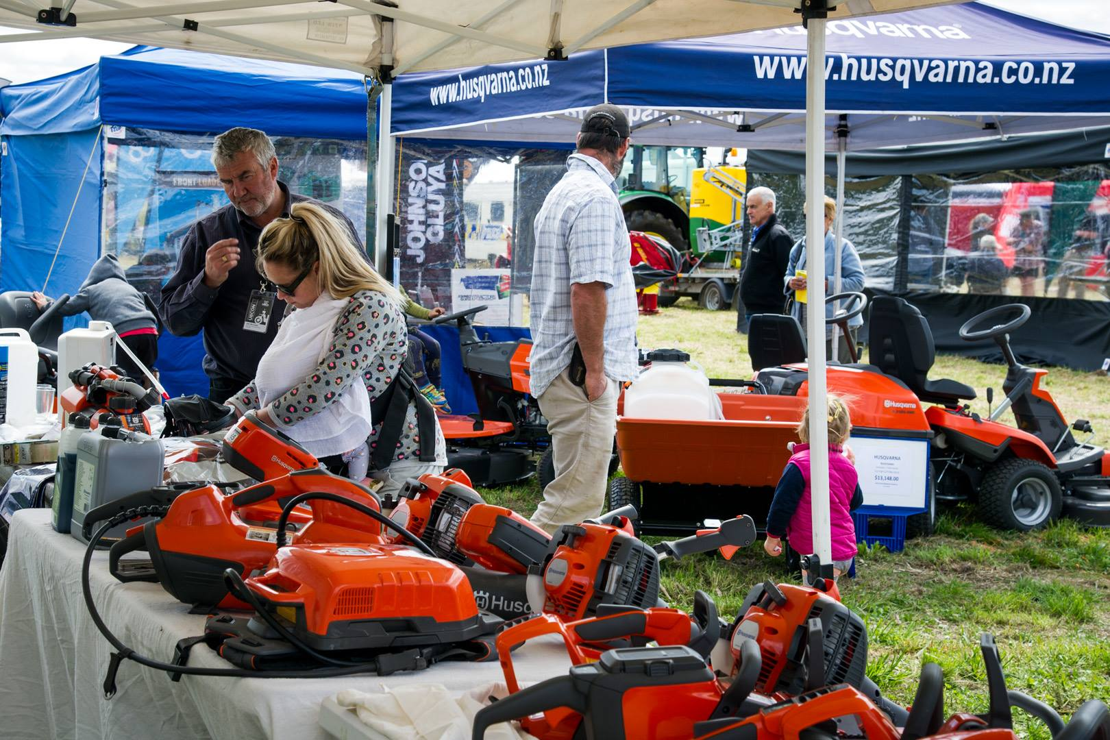 Otago Field Days - Mowers & Machines