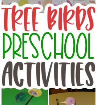 Tree Birds Activities for Preschoolers