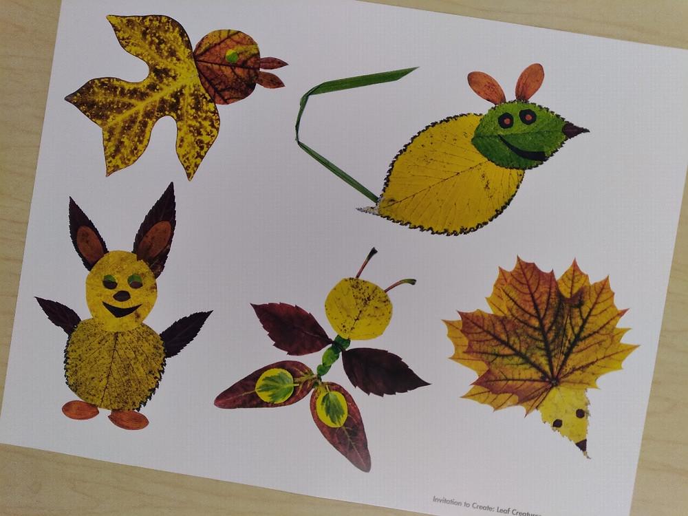 leaf creature inspiration photo