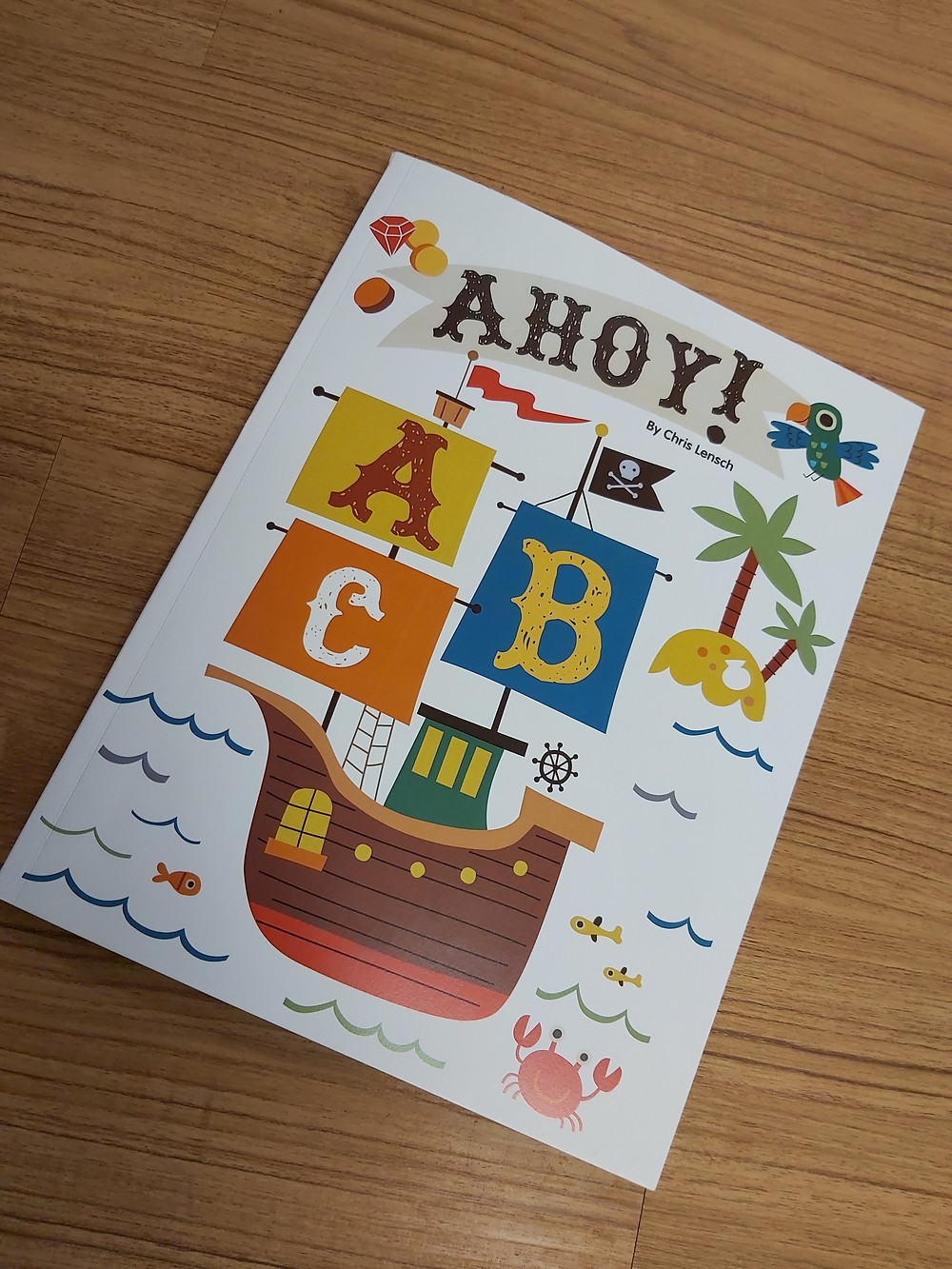 AHOY! alphabet picture book