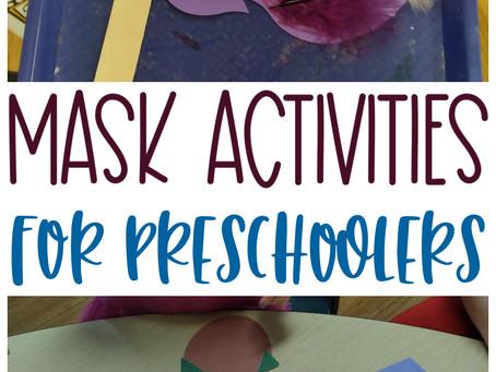 Mask Activities for Preschoolers