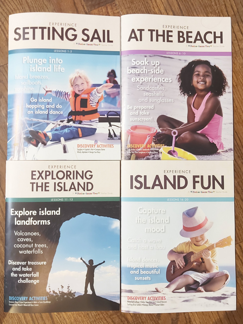 Mother Goose Time Teacher Guides for Island Treasure Theme