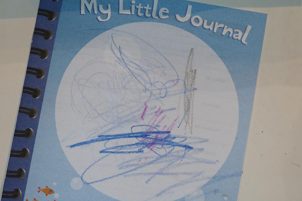 young preschooler's My Little Journal cover