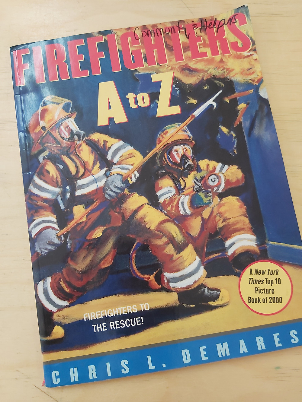 Firefighters A to Z picture book
