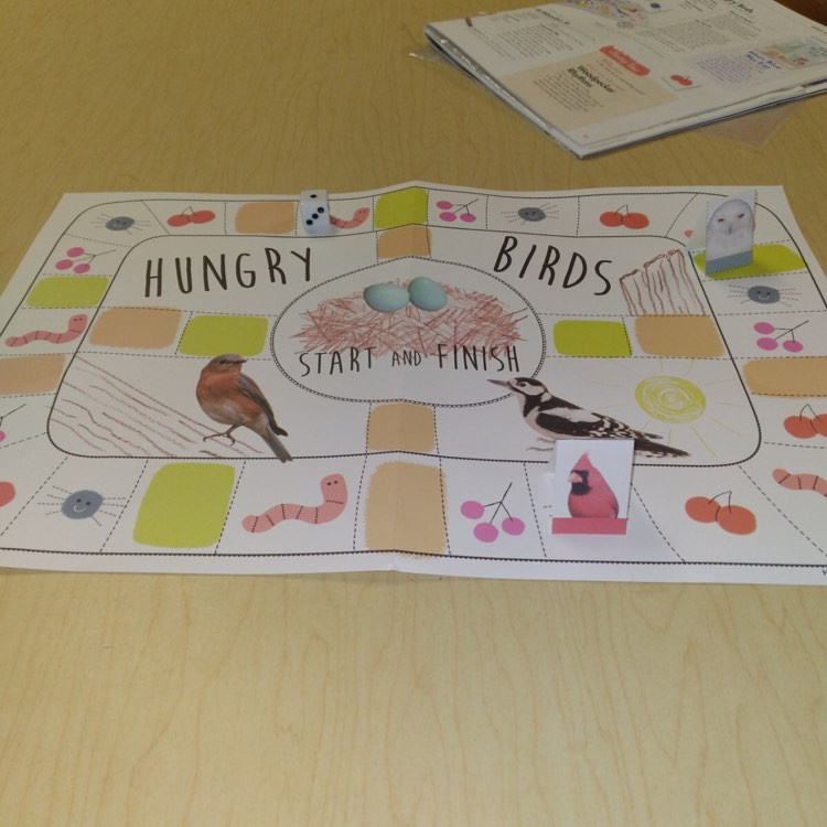 hungry birds board game