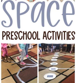 Space Activities for Preschoolers