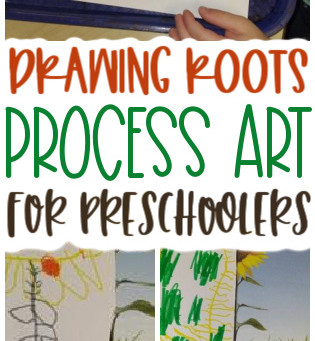 Roots Drawing for Preschoolers