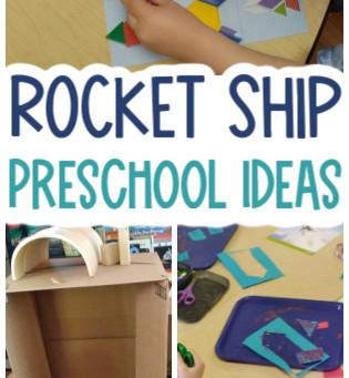Rocket Ship Activities for Preschoolers
