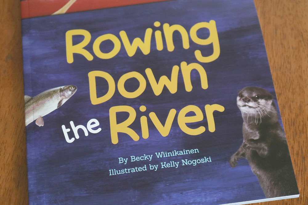 Rowing Down the River picture book