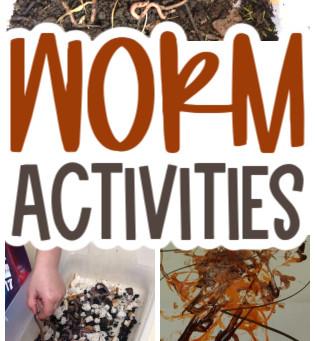 Worm Art for Preschoolers